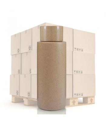 100ml Cardboard Effect Tubular Bottle & 20mm DW Cap