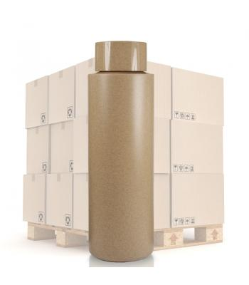 500ml Cardboard Effect Tubular Bottle & 20mm DW Cap