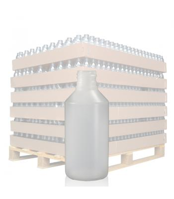 100ml Natural HDPE Round Bottle with 20mm Neck