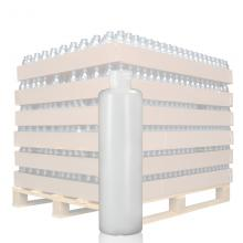 100ml Natural Tall HDPE Bottle with 20mm Neck