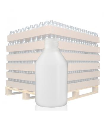 150ml Natural HDPE Round Bottle with 24mm Neck