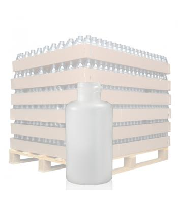 50ml Natural HDPE Round Bottle with 20mm Neck