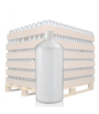 500ml Natural HDPE Round Bottle with 28mm Neck
