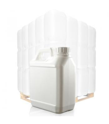 1L White Jerrycan & 38mm White T/E Cap