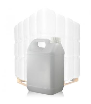 2.5L Natural Jerrycan & 38mm White T/E Cap