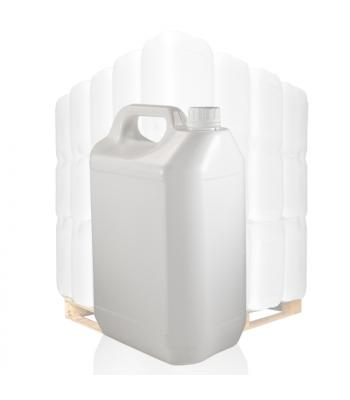 5L White Jerrycan & 38mm White T/E Cap