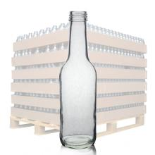 250ml Clear Glass Bottle & 28mm T/E Cap
