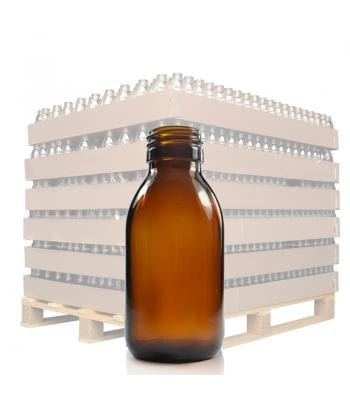 100ml Amber Glass Sirop Bottle with 28mm Neck