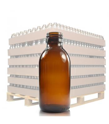 150ml Amber Glass Sirop Bottle with 28mm Neck