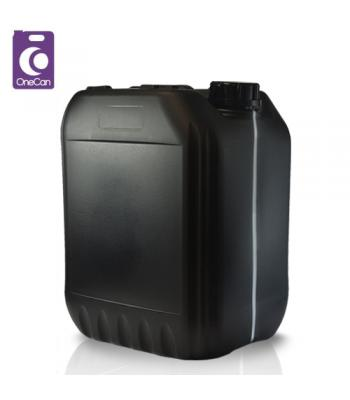 20L UN Black Stackable with Visi-Strip & Din61 T/E Cap (P)