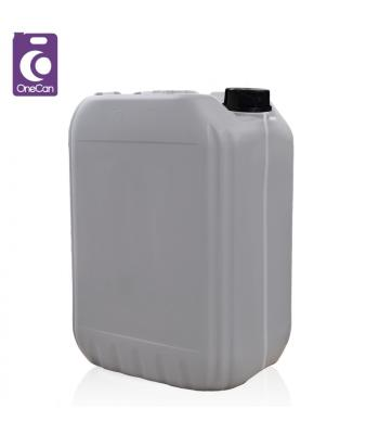 20L UN Grey Stackable with Visi-Strip & Din61 T/E Cap (P)