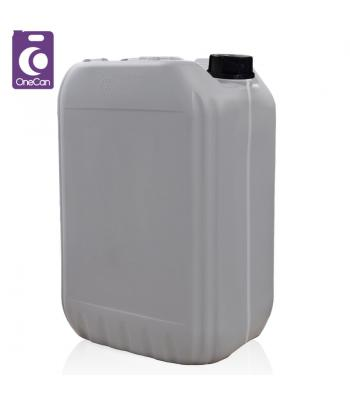 25L UN Grey Stackable with Visi-Strip & Din61 T/E Cap (P)