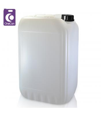 25L UN Natural Stackable & Din61 T/E Cap (P)