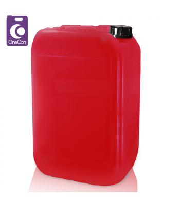 25L UN Red Stackable & Din61 T/E Cap (P)