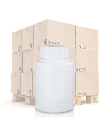 60ml White Pharmapac Container & 28mm/400 (R3) White Standard Cap