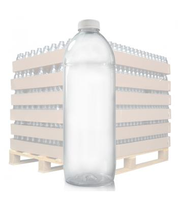 2L Clear PET Juice Bottle & 38mm T/E Lid (D)