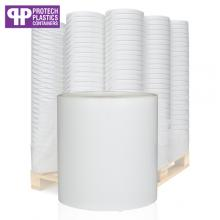 1L White Paint Can & White Lid (P)