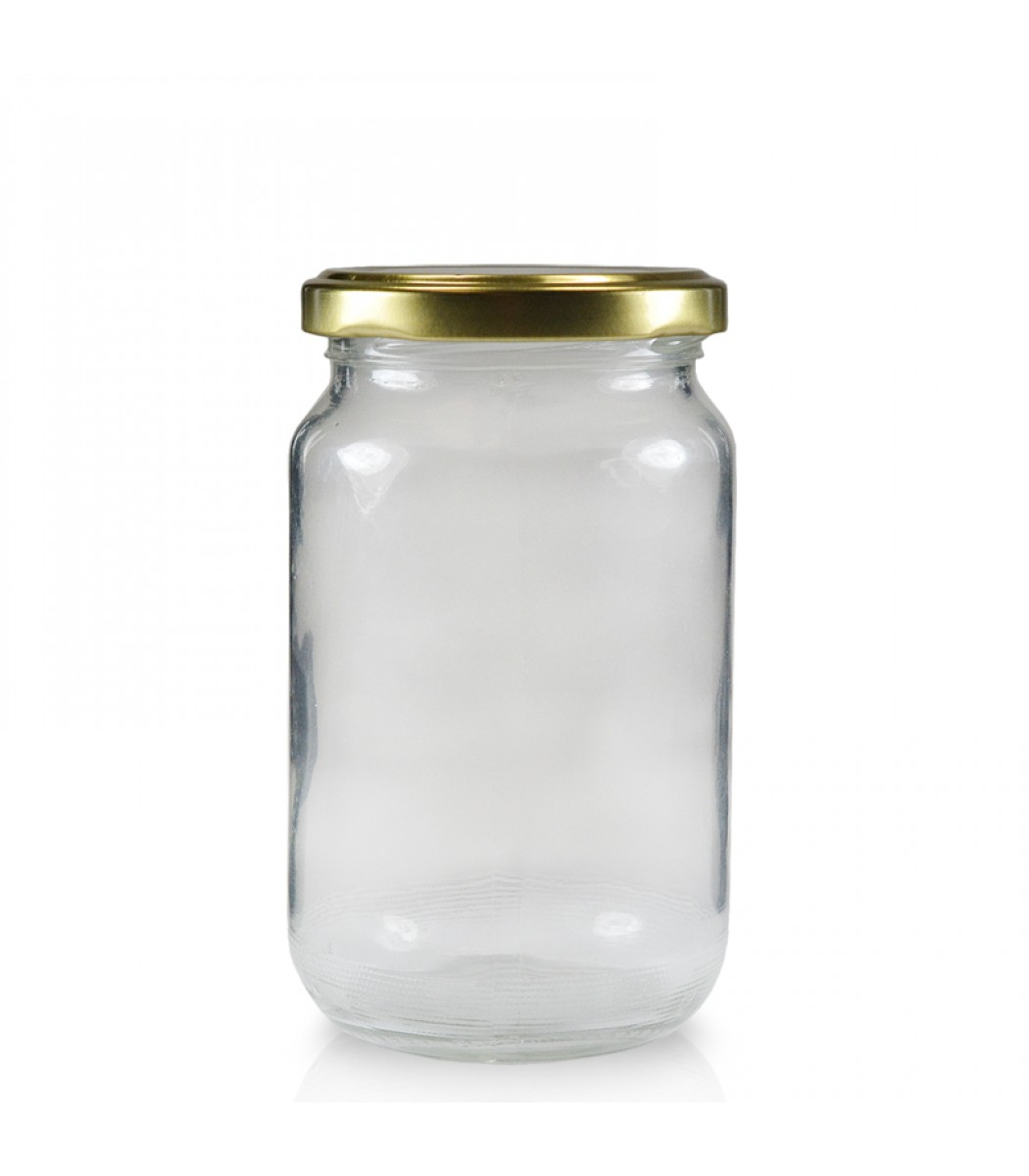 Straight Sided Glass Jars