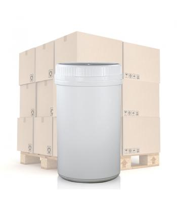 1000ml UN White Round Can With T/E Lid