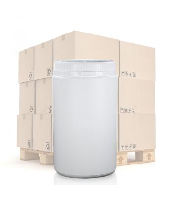 1300ml UN White Round Can With T/E Lid