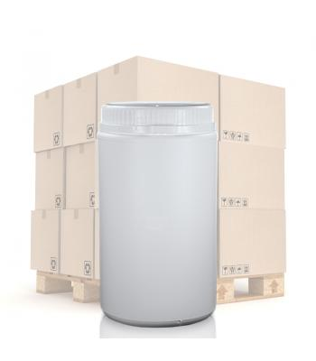1600ml UN White Round Can With T/E Lid