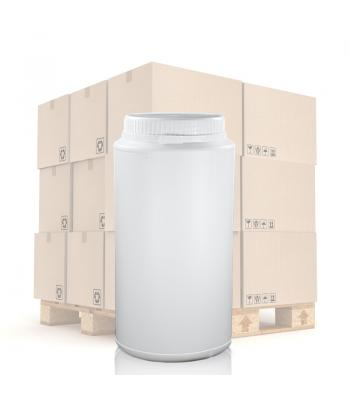 2000ml UN White Round Can With T/E Lid