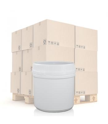 500ml UN White Round Can With T/E Lid