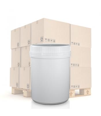 650ml UN White Round Can With T/E Lid