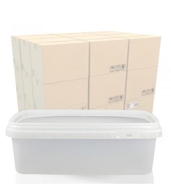 1.25L Rectangular Salad Tub and T/E Lid