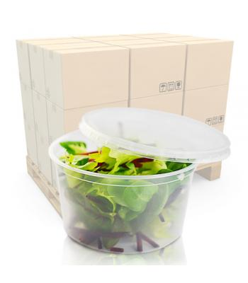 12oz (360ml) Microwaveable Deli Pot and Lid