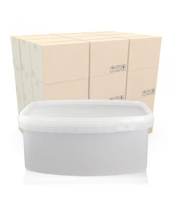 1.75L Rectangular Salad Tub and T/E Lid (C.T)