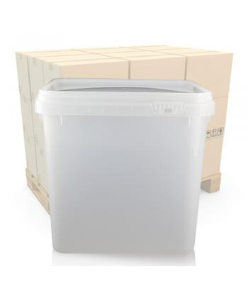 4L Square Salad Tub and T/E Lid