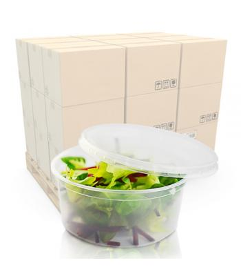 8oz (240ml) Microwaveable Deli Pot and Lid