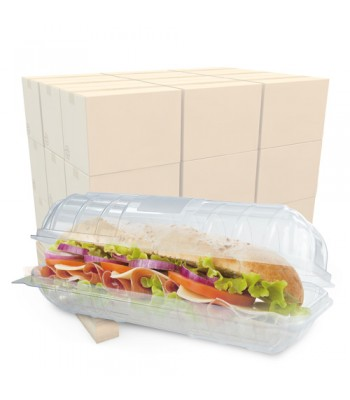 9 inch Baguette Container