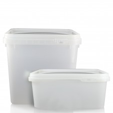 Plastic Food Tubs - Shaped