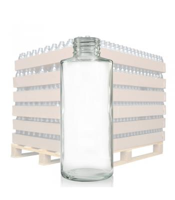 150ml Clear Glass 'Simplicity' Bottle with 24mm Neck