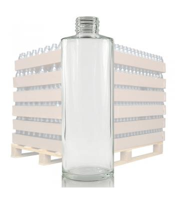250ml Clear Glass 'Simplicity' Bottle with 24mm Neck