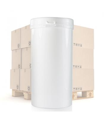650ml White Tub & 75mm T/E Snap Lock Lid