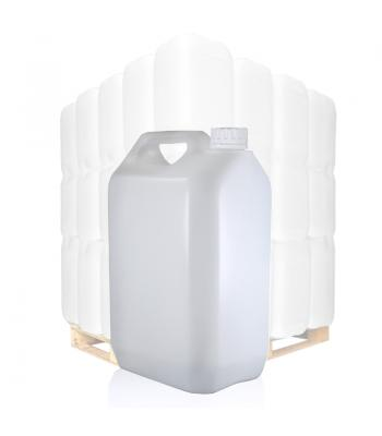 5L Natural Jerrycan & 38mm White T/E Cap