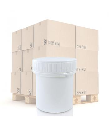 150ml White PP Screw Top Jar 63mm White PP T/E Screw Lid