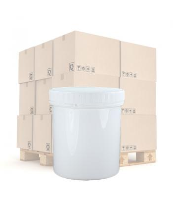 500ml White PP Screw Top Jar 95mm White PP T/E Lid
