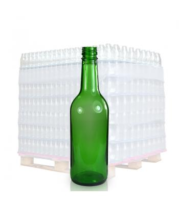 500ml Green Glass Mountain Bottle & 28mm T/E Cap
