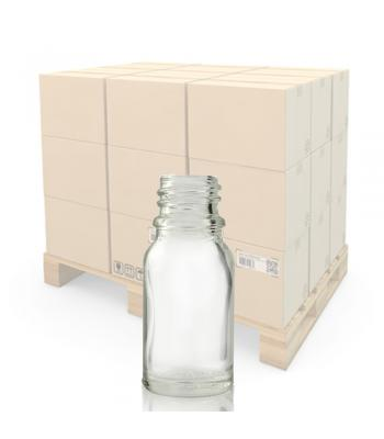 10ml Clear Glass Dropper Bottle With 18mm Neck