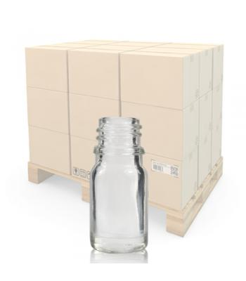 5ml Clear Glass Dropper Bottle With 18mm Neck