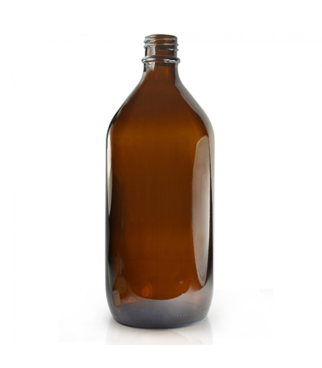 1l Amber Glass Winchester Bottle