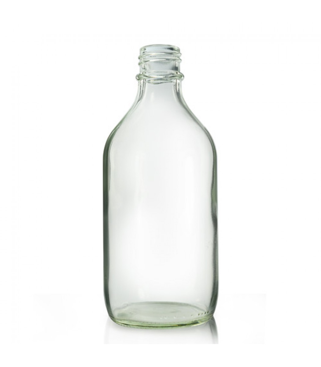 Ml Clear Glass Bottle